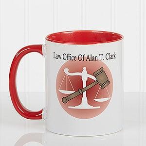 Personalized Ceramic Coffee Mug - Legal Design - 8009
