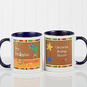 Personalized Preschool Teacher Coffee Mug - 8033