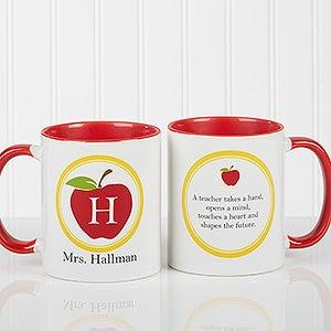 Personalized Teacher Coffee Mug - Teachers Inspire - 8036