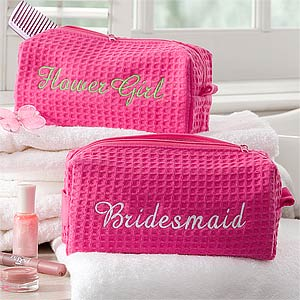 Bridal Party Gift Personalized Cosmetic Bag - 8069