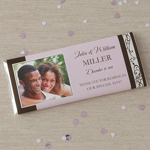 Personalized Photo Wedding Favor Candy Bar Wrers Gifts