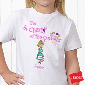 Personalization Mall Personalized Flower Girl Youth T-Shirt at Sears.com