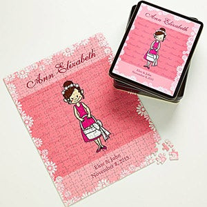 Personalized Flower Girl Gift Puzzle - 8126
