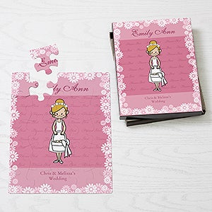 Personalized Flower Girl Gift Kids Puzzle - Wedding Gifts