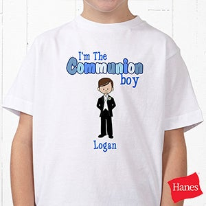 Personalized Kids T-Shirts - Communion Boy - 8144