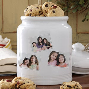 Personalized Cookie Jars - Photo Collage - 8156