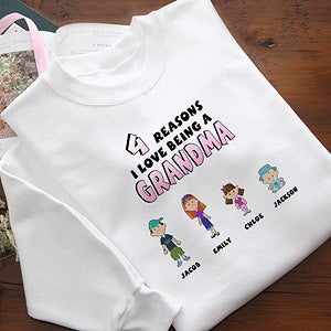 Personalized Clothing for Her - Mother & Grandmother Reason Why - 8159