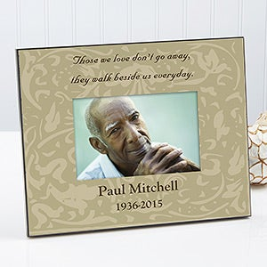 Personalized Memorial Picture Frame - Forever In Our Hearts - 8203