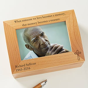 Personalized Memorial Box - They Are A Treasure - 8205