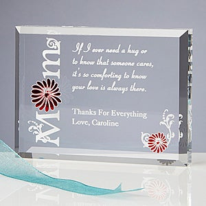 Personalized Mother's Day Gifts - Engraved Keepsake - 8216