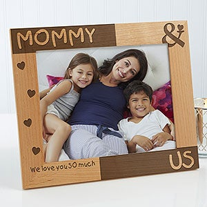 Mommy & Me Personalized Picture Frames - 8238