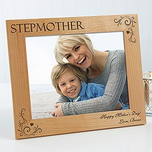 Personalized Mom Picture Frames Loving Hearts 8x10 For Her