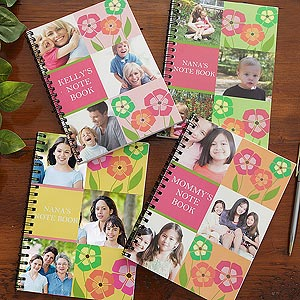 Personalized Notebook Sets - Photo Collage - 8261
