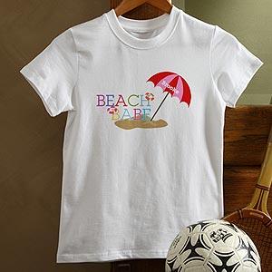 Personalization Mall Personalized Kids T-Shirts - Beach Babe at Sears.com