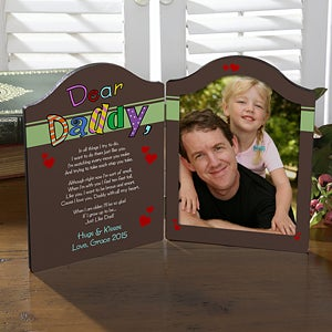 Personalized Photo Plaque - Why We Need Dad or Grandpa - 8394