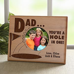 Personalized Golf Picture Frame - Hole In One - 8426