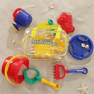 Personalized Beach Toy Set For Kids