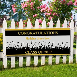 Personalized Graduation Banners - Congratulations - 8499