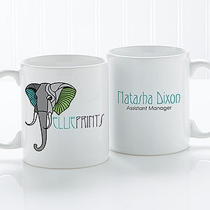 Personalized Corporate Custom Logo Coffee Mug - 8500