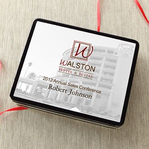 Personalized Corporate Custom Logo Promotional Tin - 8533