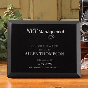 Personalized Corporate Custom Logo Marble Plaque - 8538