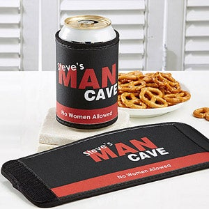 Personalized Drink Huggies - Man Cave - 8578