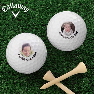 Photo Golf Balls Personalized With A Digital Photo - 8593