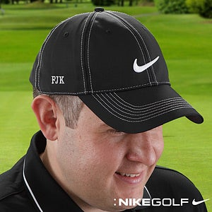 Personalized Golf Hats - Nike Dri-FIT with Monogram - 8600