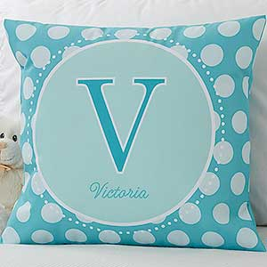 Personalized Kids Linen Keepsake Pillows - 8634