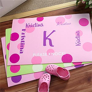 Personalized Kids Doormats - Girls Name - 8672