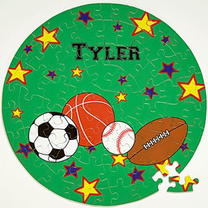 Personalized Kids Puzzles for Boys - 8673