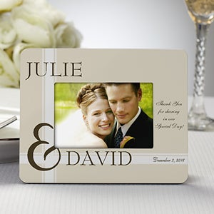 Personalized Picture Frame Wedding Favors - To Love You - 8692