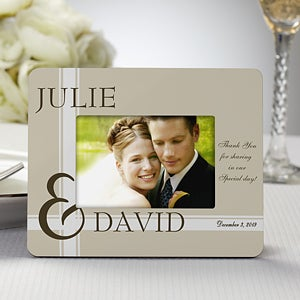 Personalized Picture Frame Wedding Favors To Love You 8692