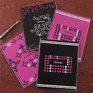 Personalized Notebooks - Just Her Style Set of Two - 8712