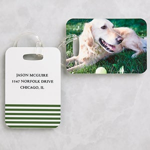 Personalized Photo Luggage Tags - Love My Pet - 8722