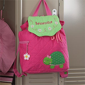 Personalized Turtle Backpack for Girls - 8730