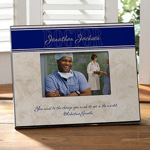 Personalized Picture Frame for Doctors or Nurses - Inspiring Medicine - 9071