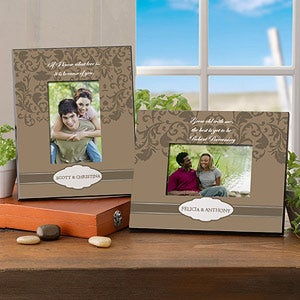 Personalized Romantic Picture Frame - At One Glance - 9080