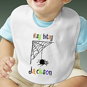 Personalization Mall Personalized Infant Halloween Bib - Itsy Bitsy Spider at Sears.com