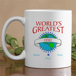 Personalized Custom Shirts and Accessories - World's Greatest Design - 9124