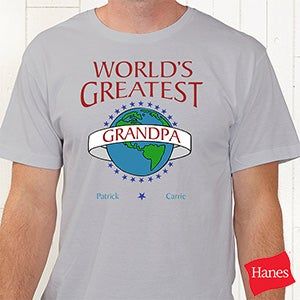Personalized custom t shirt world 39 s greatest design for Meadowood mall custom t shirts