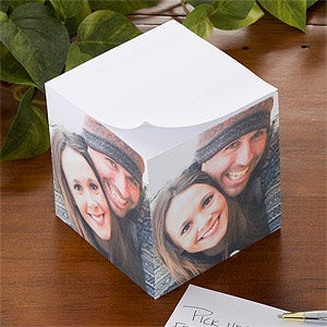 Personalized Photo Note Pad Cube - Picture It - 9160
