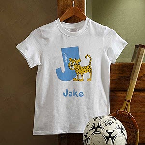 Personalized Boys Clothing - Alphabet Animals - 9216