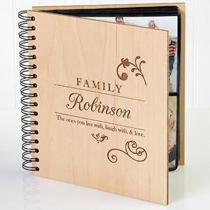 Personalized Photo Album - Family Love - 9309