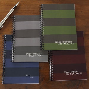 Personalized Notebook Set - Business Stripes - 9316