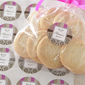 Personalized Gift Stickers - Fresh From the Kitchen - 9340