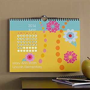 Personalized Wall Calendar - Just Her Style - 9345