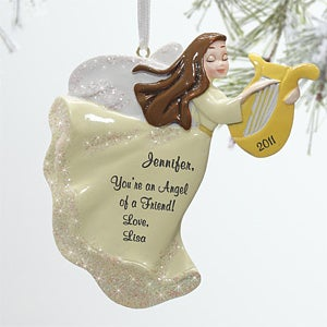 Personalization Mall Christmas Angel Personalized Christmas Ornaments at Sears.com
