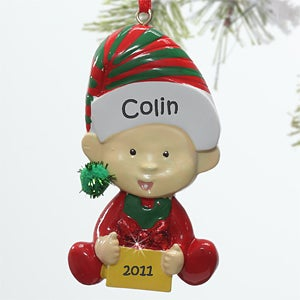Personalization Mall Personalized Baby Character Christmas Ornaments at Sears.com