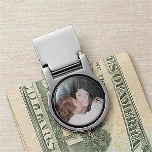 Personalized Photo Money Clip - 9379D